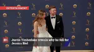 Justin Timberlake Dishes On His love For Jessica Biel [Video]