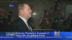 Weinstein Accused Of Sexually Assaulting 16-Year-Old Model [Video]