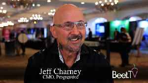 Go With The Flo: Marketers Need To Be Brave, Take Risks, Says Progressive's Charney [Video]