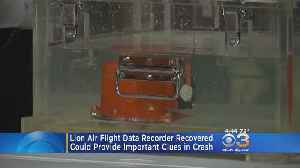 News video: Indonesian Officials Analyzing Flight Data Recorder From Lion Air Crash