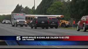 Driver Involved in School Bus Collision to be Cited [Video]
