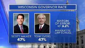 New Marquette Law School Poll shows close race for WI Governor, A.G. [Video]