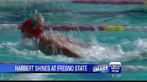Former PV swimmer stars at Fresno State [Video]