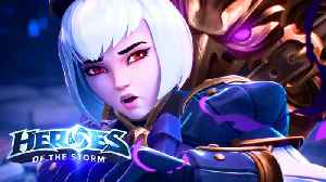 Heroes Of The Storm - Heir Of Raven Court Cinematic Trailer | Blizzcon 2018 [Video]