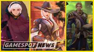 New Overwatch Hero, Hearthstone Expansion, And Warcraft 3 Remaster Announced At BlizzCon [Video]