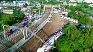 Japanese maker of train in deadly Taiwan crash finds design flaw [Video]