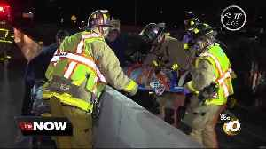 Woman helping crash victims on San Diego freeway hit by vehicle, killed [Video]