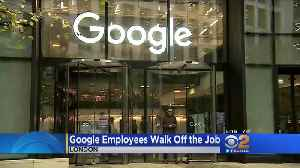 Google Walkout: Employees Protest Over Sexual Harassment Scandals [Video]