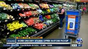 More grocery stores offering in-store pick-up, with home delivery options growing [Video]