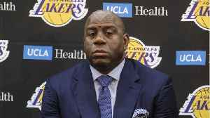 Magic Johnson Reportedly 'Admonished' Lakers Coach Luke Walton For The Lakers' Slow Start [Video]