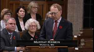 Liberal MP Calls Climate Change An 'Existential Challenge' [Video]