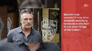 Alec Baldwin's Parking Punch And Then Jail [Video]