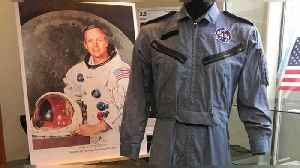 Neil Armstrong astronaut memorabilia auction lifts off [Video]