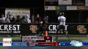 High school football playoffs, round 1 [Video]