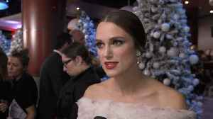 Keira Knightley Is All About Elegance On Christmas [Video]