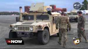 First wave of troops deployed to San Diego border [Video]