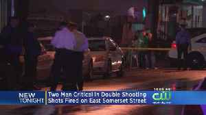 2 Men In Critical Condition After Being Shot In Fairhill [Video]