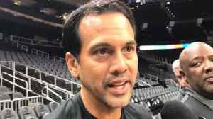 Erik Spoelstra on the lack of true backup point guard [Video]