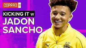 England Phenom Takes on FIFA 19 & Drake vs. Travis Scott | Kicking It with Jadon Sancho [Video]
