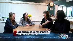 St. Mary's therapist donates kidney to Tucson teenager [Video]