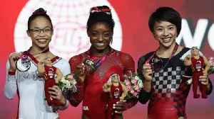 Simone Biles Sets Record for World Championship Golds [Video]