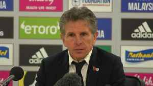 'We honour the chairman' - Puel on Leicester's emotional win [Video]