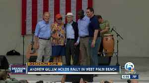 Jimmy Buffett joins Andrew Gillum and Sen. Nelson at West Palm Beach campaign stop [Video]