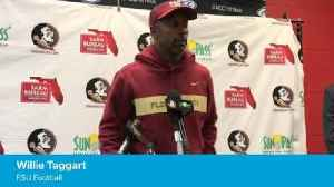 FSU coach Willie Taggart on NC State loss [Video]