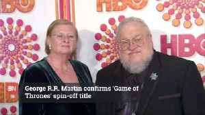 See The New Title Of The Game Of Thrones Prequel [Video]