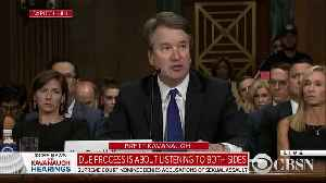 Brett Kavanaugh gets emotional [Video]
