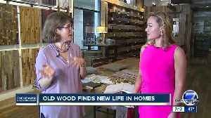 Old wood finding new life in home design [Video]