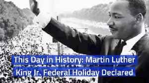 Martin Luther King Jr: An Important Day In American History [Video]