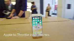 Apple Is Playing Around With Phone Batteries Again [Video]