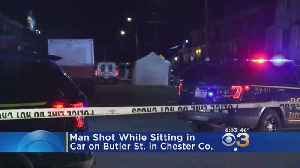 Police Investigate After Man Shot, Killed In Car In Chester County [Video]
