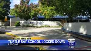 Report of Man With Gun Forces Lockdown of Redding Elementary School [Video]