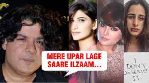 Sajid Khan Finally Reacts On Sexual Harassment Allegations [Video]