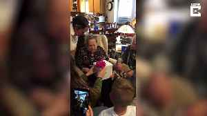 """is it mine?"" World War II veteran great-grandma surprised with new puppy after service dog of 12 years passes away [Video]"