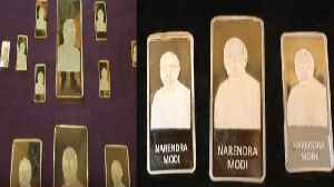 Dhanteras : PM Modi embossed Gold and Silver Bars by Surat Jewellers | Oneindia News [Video]