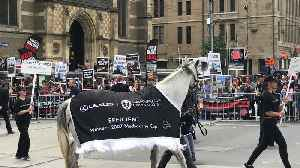 'Horse Racing Kills': Protesters Chant During Melbourne Cup Parade [Video]
