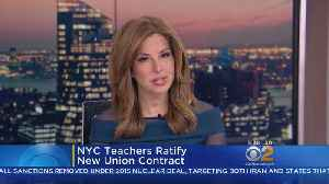 NYC Teachers Ratify New Contract [Video]