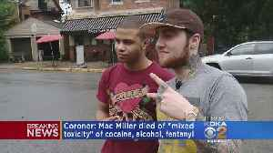 Mac Miller's Death Ruled Accidental Overdose; Fentanyl, Cocaine Found In Rapper's System [Video]