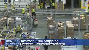Amazon To Drop $25 Minimum For Free Shipping [Video]
