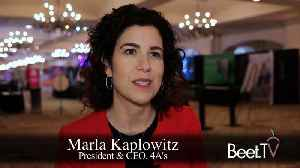4A's Kaplowitz Responds To ANA Survey Showing Rise Of In-House Agencies [Video]