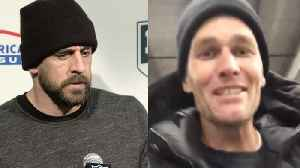 Tom Brady Posts Gangster Hype Video After Demolishing Packers, Aaron Rodgers Reacts To Big L [Video]