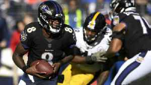 Ravens' Harbaugh would like to see QB Lamar Jackson on the field more [Video]