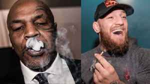 Conor McGregor & Mike Tyson End Beef By Getting Super Faded Together [Video]