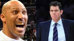 Lavar Ball Shades Luke Walton, Claims He Can Coach Lakers