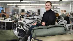 Nonprofit Hires People From Homeless Shelters to Make Jackets [Video]