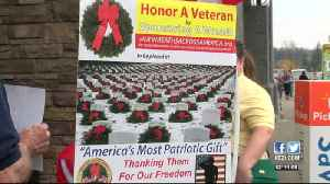 Civil Air Patrol collects donations for wreaths to honor Veterans [Video]