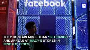 Facebook Launches Pop-Up Stores Around the US [Video]